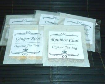 Organic Chai Tea Bag