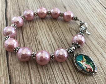 Rosary Bracelet Guardian Angel