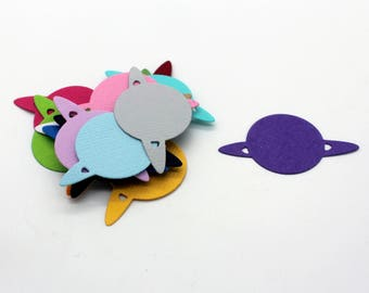 Planet: set of die - cut cut-outs