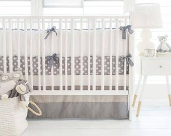 Grey Ombre Baby Bedding Set