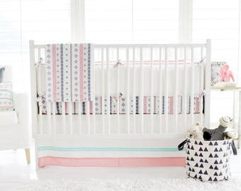 Pink Rio Crib Bedding Set