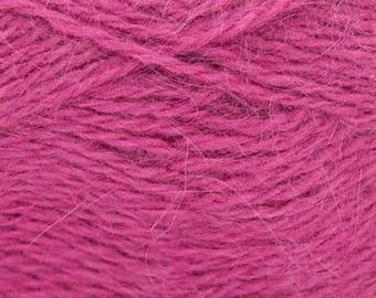 Rowan Angora Haze + Free Patterns 12.50 +1.25ea to Ship Caress 525 Pink Angora Haze Yarn 150yd Fine Halo, Pure Heaven! MSRP 16.00