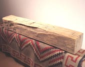 Barn Beam Mantel, Reclaimed Wood Mantel, Floating Mantel, Fireplace Mantel, Rustic Mantel, Hand Hewn Mantel, Barnwood Mantel,
