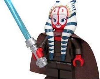 Shaak Ti Star Wars Custom Minifigure 100% Lego Compatible!