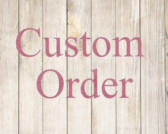 Custom Order- 7 Large Jewelry Dishes