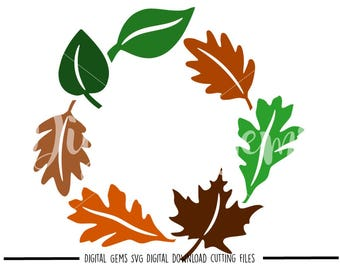Wreath, Thanksgiving svg / dxf / eps / png files. Digital download. Compatible with Cricut and Silhouette machines. Small commercial use ok.