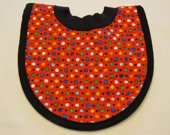 Dots Pop-on Quilted Baby Bib