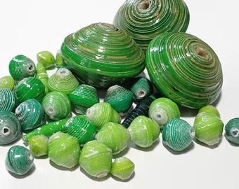 Fair Trade Paper Bead Mix 4