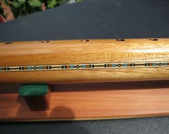 Native American Flute - hand made - key of deep low B -  Awesome sound - Spanish Cedar