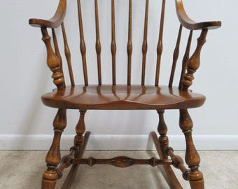 Ethan Allen Circa 1776 Rocker Rocking Chair A