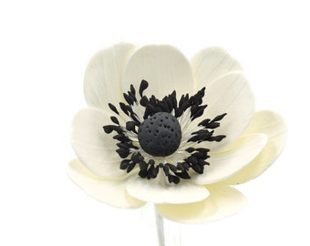 Anemone Sugar Flowers for wedding cake toppers, gumpaste decorators, DIY weddings