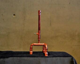 SET 31 copper pen on a holder, souvenir pen, pen for engineer, luxury pen set, customized pen, desk pen, pen for him, one of a kind pen