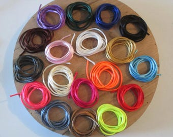 wire 2mm Rattail 18x10m mix color