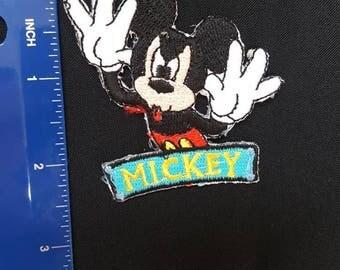 Micky mouse patch