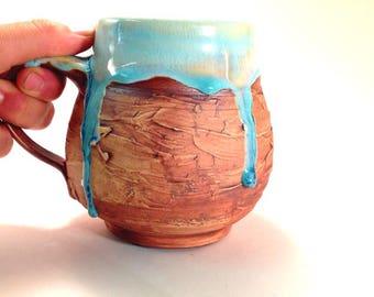 Ceramic Coffee Cup, Ceramic Tea Cup, Pottery Mug, Large Handmade Mug