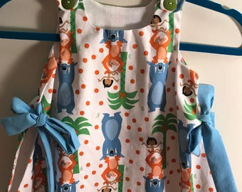 Jungle Book print summer dress