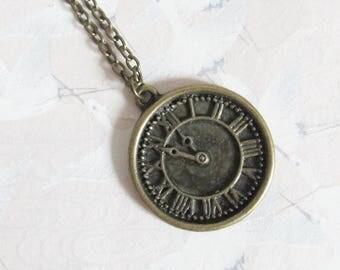 Necklace * Alice in Wonderland * * watch * Alice jewelry, retro necklace watch, steampunk watch necklace