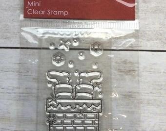 Clear Stamp Christmas Santas Feet