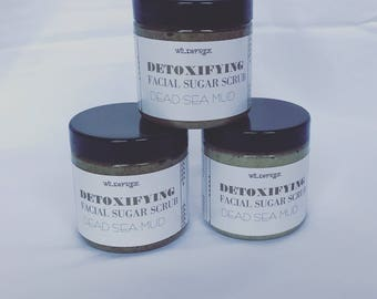 Detoxifying Facial Scrub Dead Sea Mud