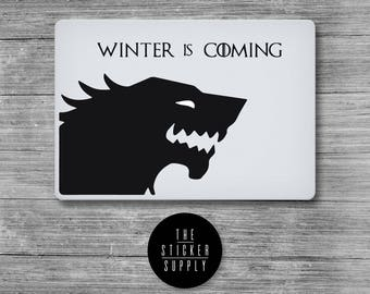 Game of Thrones - Winter Is Coming - Macbook Vinyl Sticker Decal