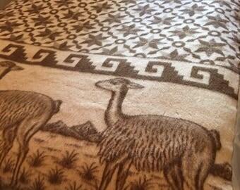 Alpaca Blanket Peru Etsy