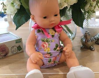 Miniland Dolls Clothing, Miniland Doll 32cm, Romper