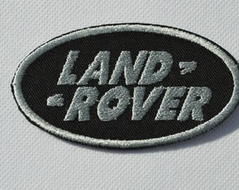 land rover embroidered badge