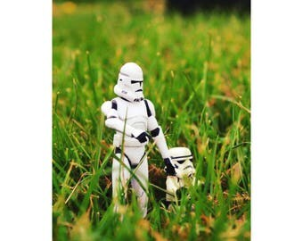 """Star Wars 4"""" by 6"""" photo print. Great Fathers Day Gift"""