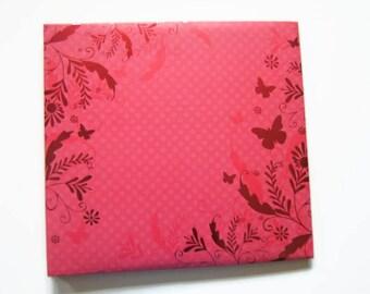 Pink Scrapbook Album - Pink Photo Album - Blank Photo Scrapbook Album - Pink Scrapbook Photo Album - Pink Scrapbook - Blank Scrapbook Album