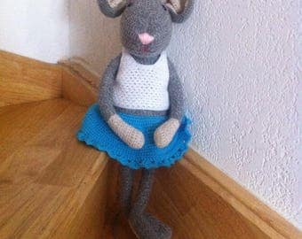 Charlie the Lovely Mouse Gray