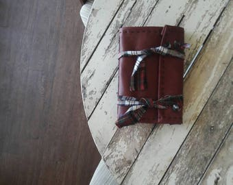 Red Flannel Plaid Journal