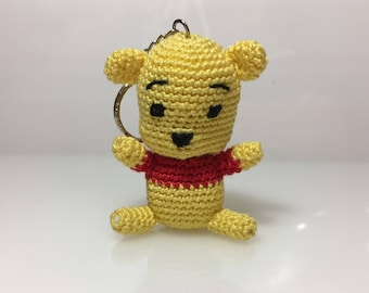 Amigurumi crochet Winnie the pooh gift idea for her for her and children, ideas for wedding favors