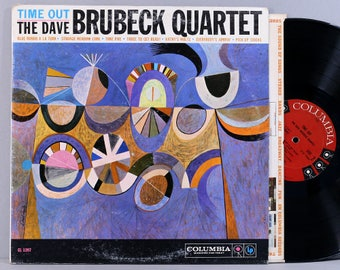 The Dave Brubeck Quartet - Time Out - Vintage Vinyl Record Album 1959 First Press Mono CL 1397 - Take Five