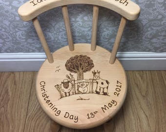 Farm Animal Personalised Chair