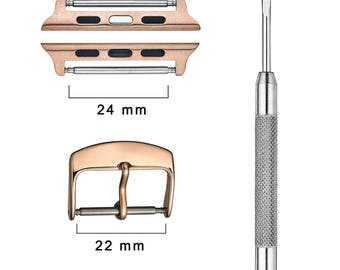 Apple watch connector kit - 42 mm - Rose Gold