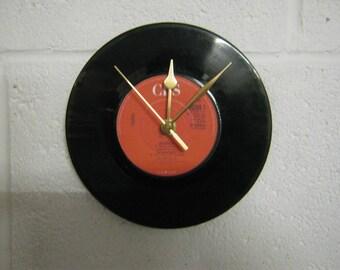 Vinyl Record Clock Etsy