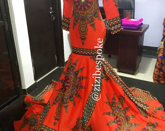 Pictures of african design dresses