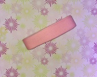 Easter: Pink Ribbon cotton 250 cm x 1.5 cm