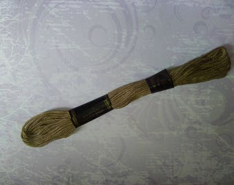 1 skein of Brown yarn 100% cotton 8 m