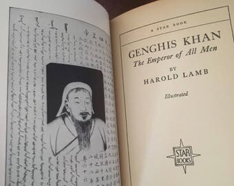 1927 Genghis Khan by Harold Lamb