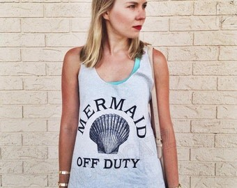 Mermaid off duty shirt mermaid top summer top boho chic shirt women gifts for her shirt for teen gifts friends women graphic tees ladies top