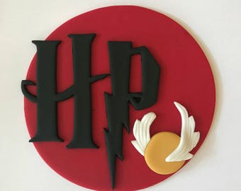 Harry Potter Inspired Cake Topper-Fondant