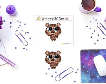 Star Wars Ewok Critter Sticker/Die Cuts