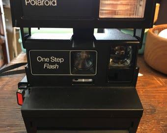 Vintge Polaroid One Step Camera