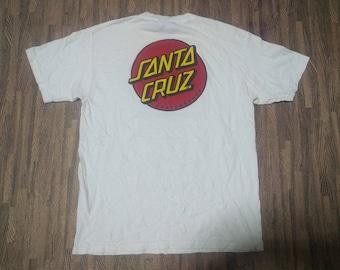 Vintage oneita santa cruz skateboard 90's t-shirt size M BKKB6rktNh