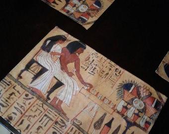 Egyptian Kemetic dinner Place Mat Alter mat Anu Egyptian God