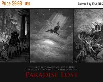 Summer Sale Paradise Lost (1667) Poem by John Milton Artistic POSTER