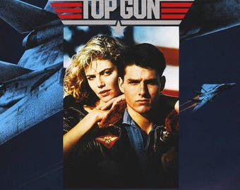 Back to School Sale: TOP GUN Movie POSTER Tom Cruise