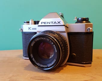 Pentax K1000 - Manual SLR - SMC f2 50mm