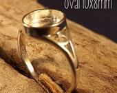 Custom design sterling silver rings